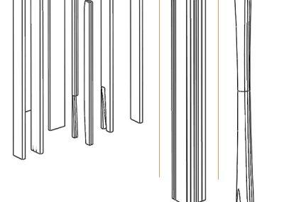 8. La columna. Pillar.
